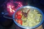 27...ziemniaki, mięsko i pomidorki - rozpusta!
